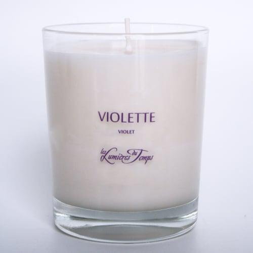 Bougie Végétale Violette