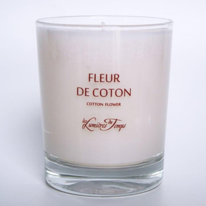 Bougie Végétale Fleur de Coton - Les Lumières du Temps - Incenza