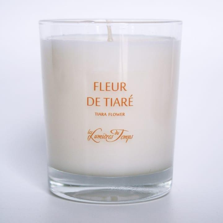 Fleur de Tiaré Bougie Parfumée - Les Lumières du Temps - Incenza