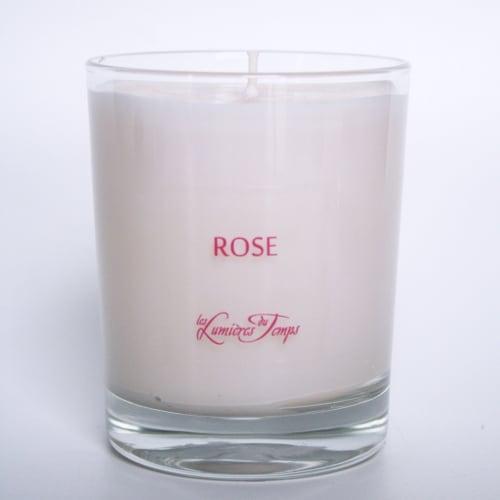 Bougie Végétale Rose