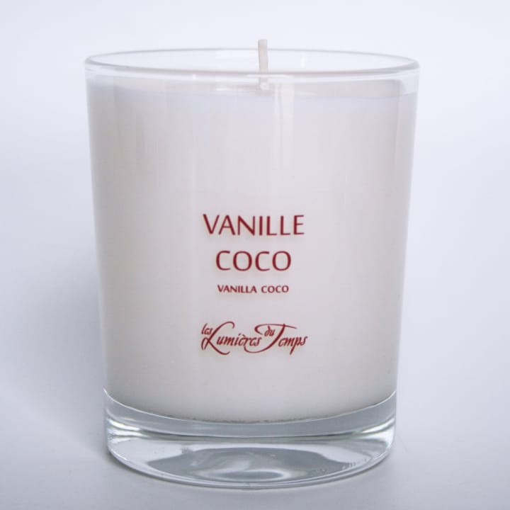 Vanille Coco Bougie Parfumée - Les Lumières du Temps - Incenza
