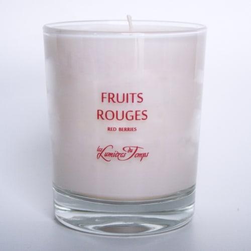 Bougie Végétale Fruits Rouges