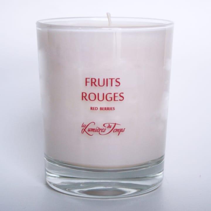 Fruits Rouges Bougie Parfumée - Les Lumières du Temps - Incenza