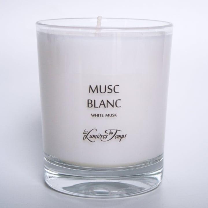 Musc Blanc Bougie Parfumée - Les Lumières du Temps - Incenza