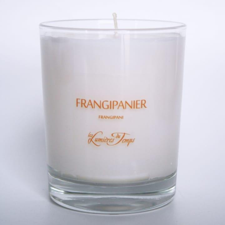 Frangipanier Bougie Parfumée - Les Lumières du Temps - Incenza