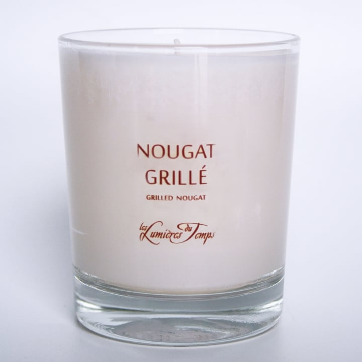 Nougat Grillé Bougie Parfumée - Les Lumières du Temps - Incenza