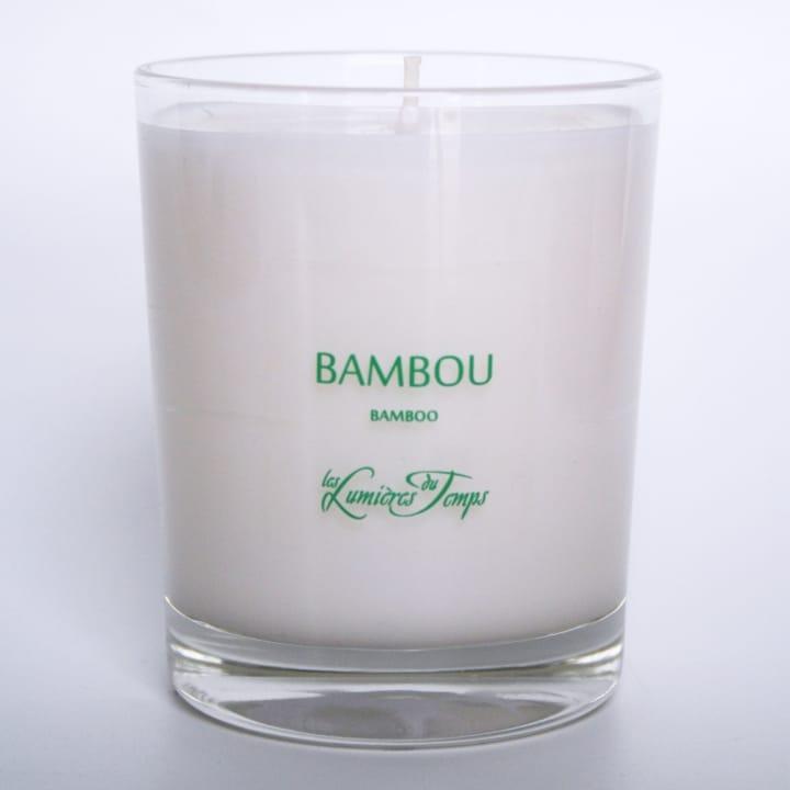 Bambou Bougie Parfumée - Les Lumières du Temps - Incenza