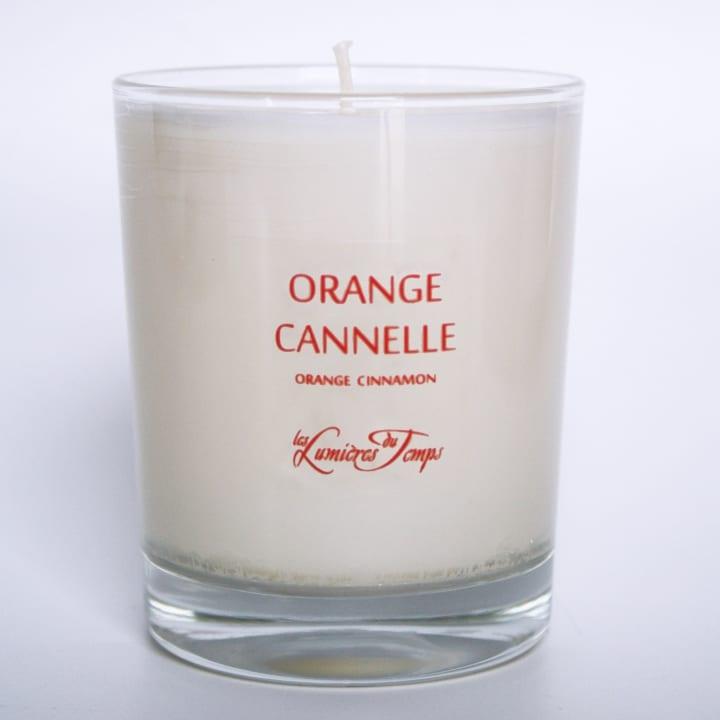 Orange Cannelle Bougie Parfumée - Les Lumières du Temps - Incenza