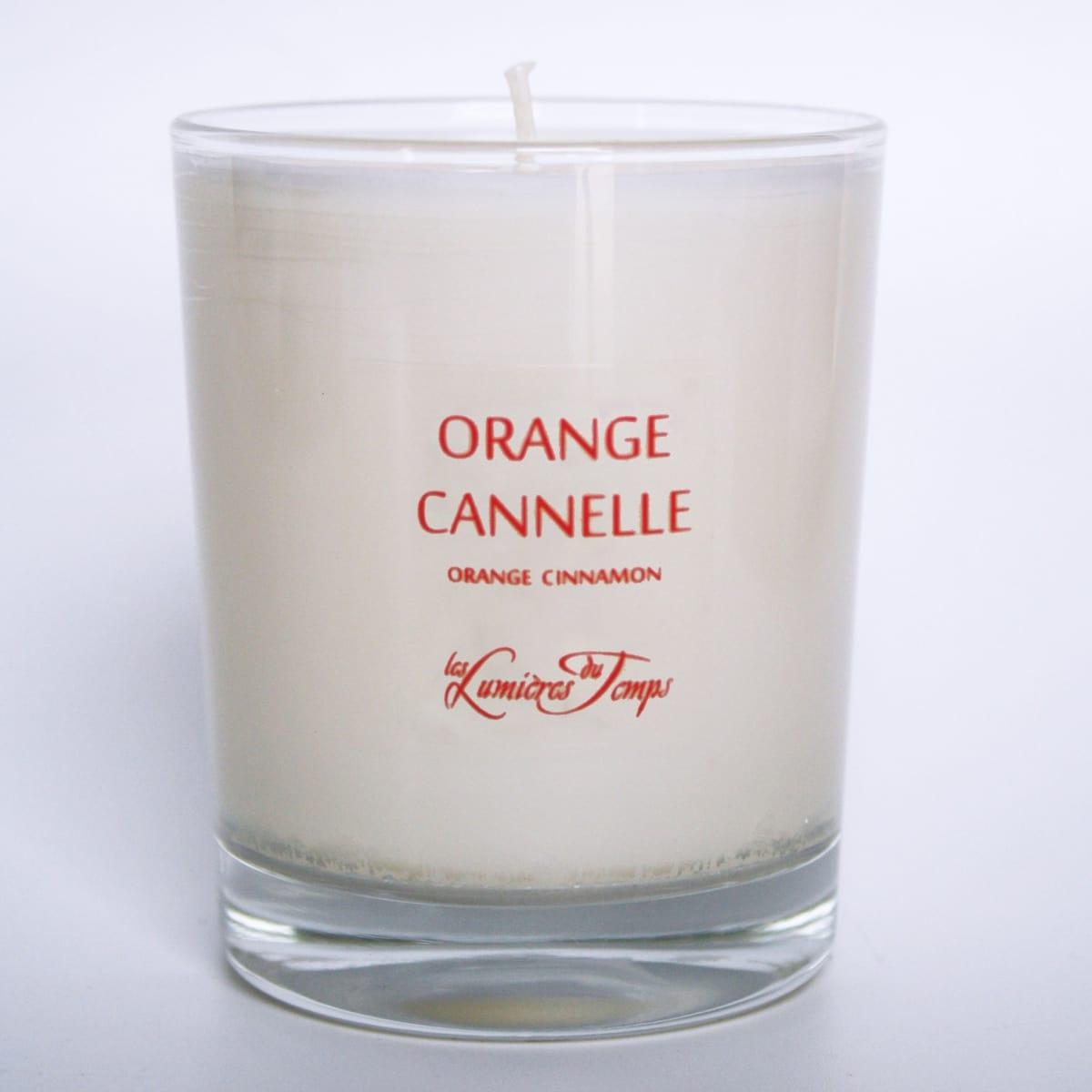 bougie v g tale orange cannelle les lumi res du temps incenza. Black Bedroom Furniture Sets. Home Design Ideas