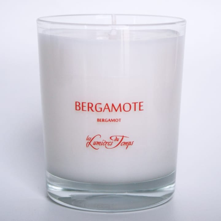 Bougie Végétale Bergamote - Les Lumières du Temps - Incenza