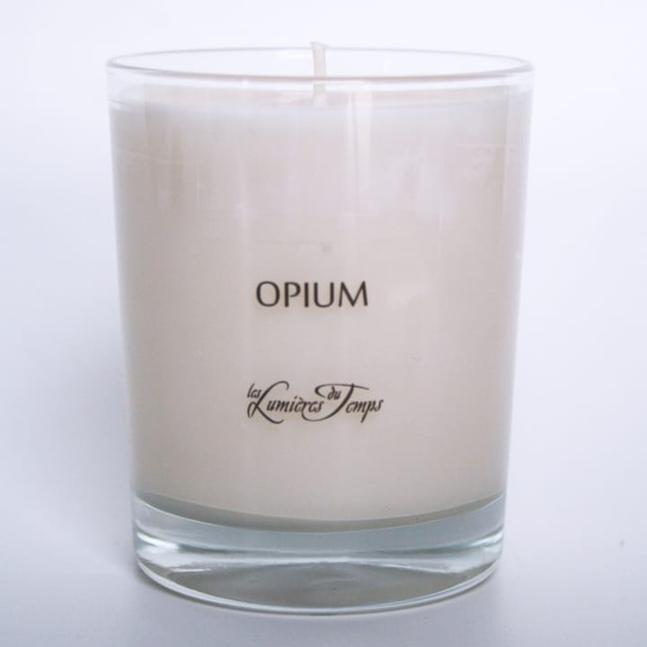 bougie v g tale opium les lumi res du temps incenza. Black Bedroom Furniture Sets. Home Design Ideas