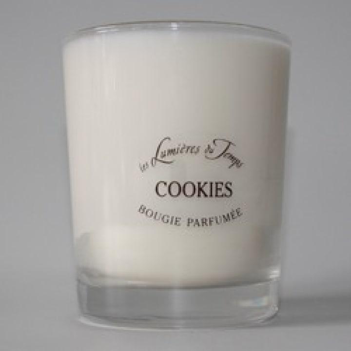 Bougie Végétale Cookies - Les Lumières du Temps ANCIEN - Incenza