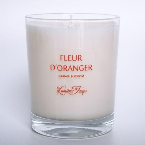 Bougie Végétale Fleur d'Oranger