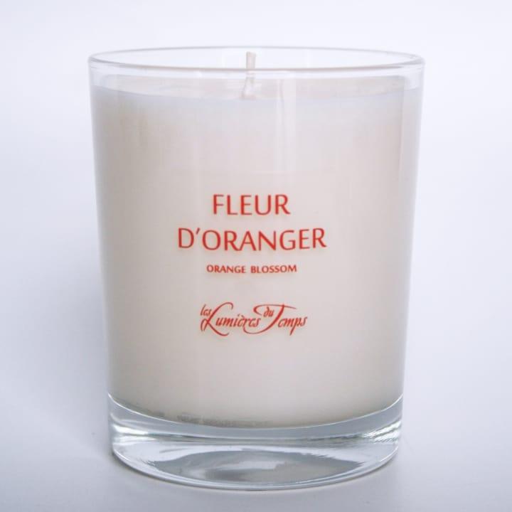 Bougie Végétale Fleur d'Oranger - Les Lumières du Temps - Incenza