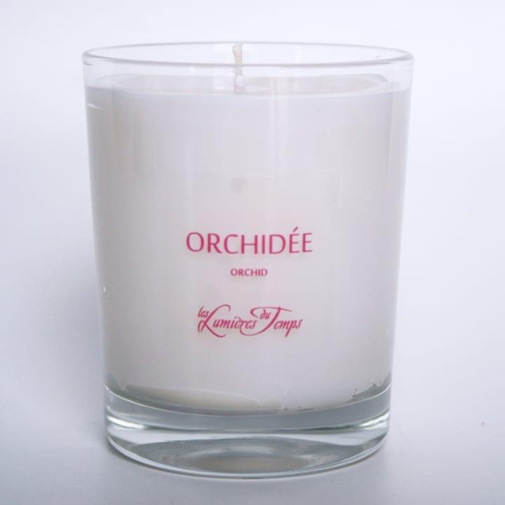 Orchidée Bougie Parfumée - Les Lumières du Temps - Incenza