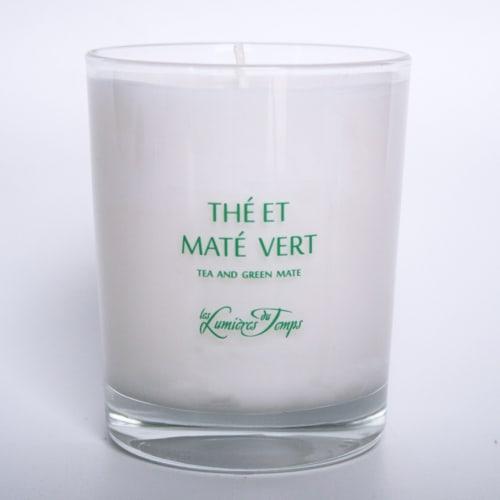 Bougie Végétale Thé et Maté Vert