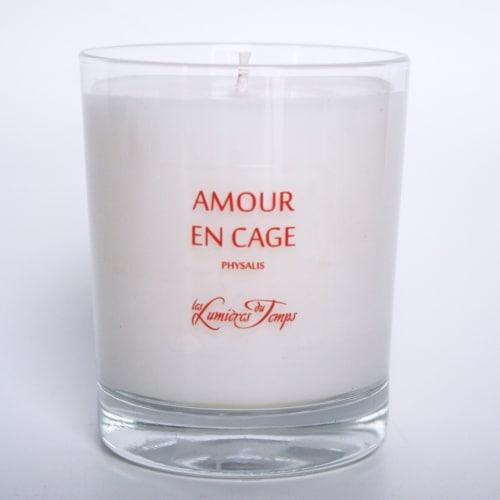 Bougie Végétale Amour en Cage