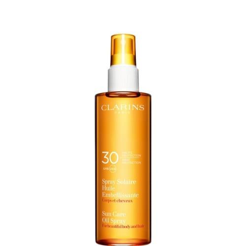 Spray Solaire Huile Embellissante UVA/UVB 30