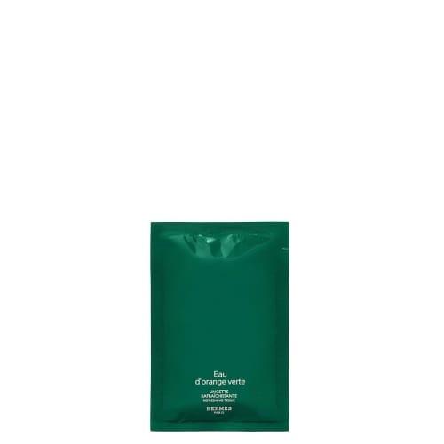 Eau d'Orange Verte Lingettes Raffraîchissantes Parfumées