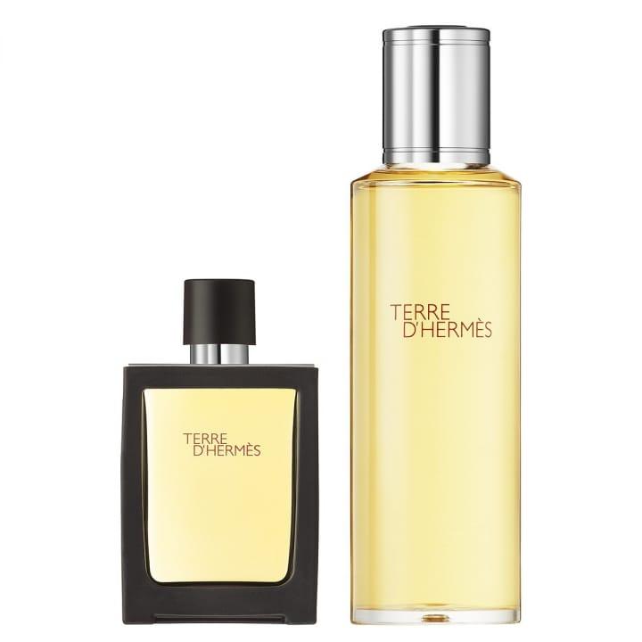 Terre d'Hermès Parfum Vaporisateur 30 ml + Recharge 125 ml - HERMÈS - Incenza