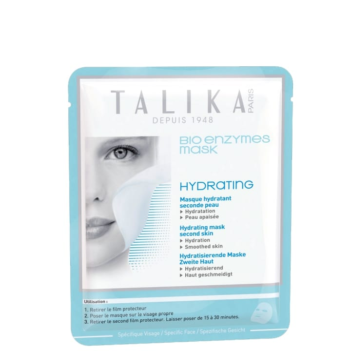Bio Enzymes Mask Hydrating Masque Hydratant Seconde Peau - Talika - Incenza