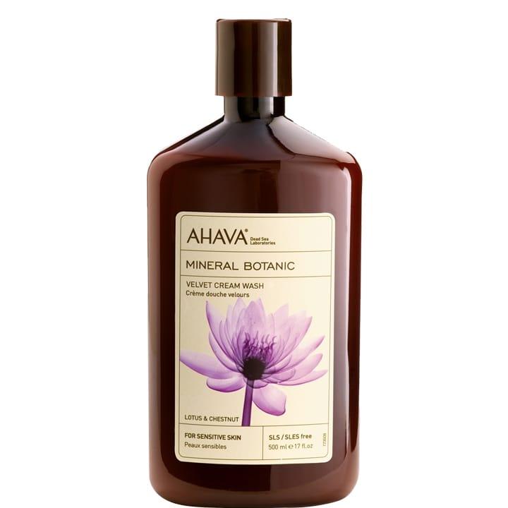 Minéral Botanic Crème Douche Velours Lotus - Châtaigne - Ahava - Incenza