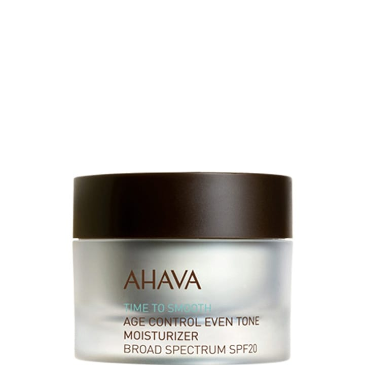 Time to Smooth Soin Hydratant Anti-Âge Teint Parfait SPF 20 - Ahava - Incenza