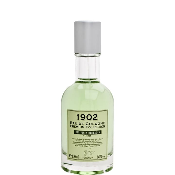 1902 Premium Vetiveria Herbacea Eau de Cologne - Berdoues - Incenza