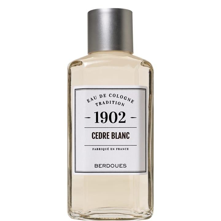 1902 Tradition Cèdre Blanc Eau de Cologne - Berdoues - Incenza
