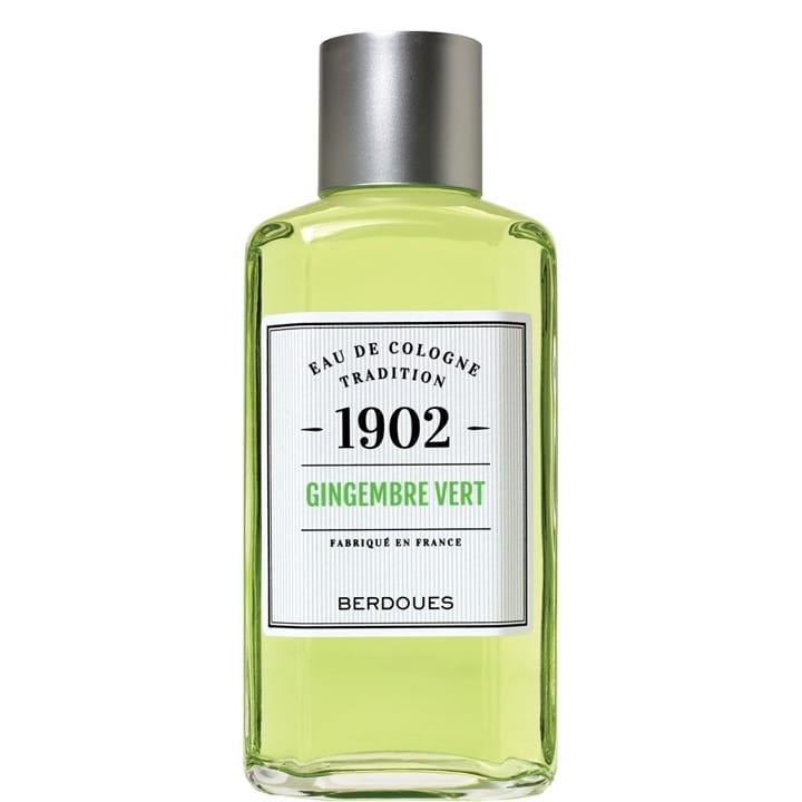 1902 Tradition Gingembre Vert Eau de Cologne - Berdoues - Incenza