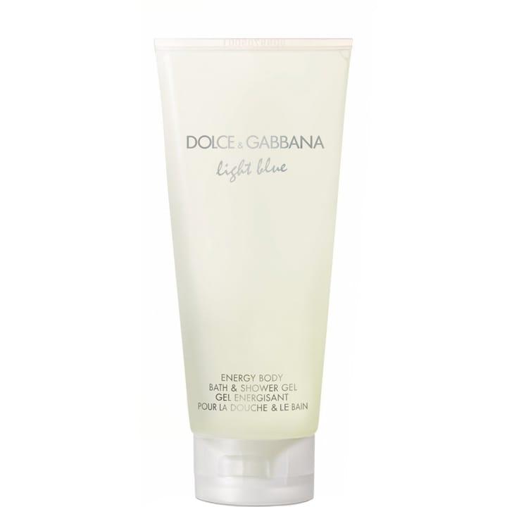Light Blue Gel Energisant pour la Douche et le Bain - Dolce&Gabbana - Incenza