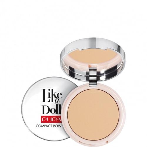 Like a Doll Poudre Compacte Effet Peau Nue – Teint Mat et Rayonnant