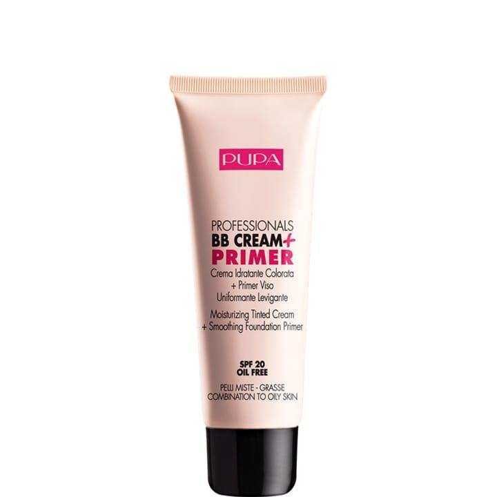 Professionals BB Cream + Primer PMG Crème Hydratante Teintée + Base de Maquillage Lissante et Unifiante SPF 20 - Pupa - Incenza