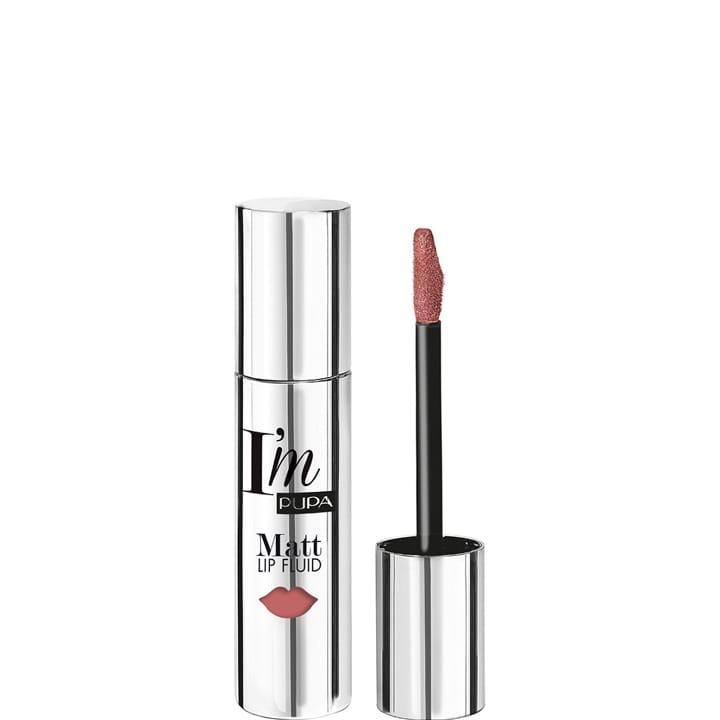 I'M Matt Lip Fluid Rouge à Lèvres Fluide Couleur Pure Mat Absolu - Pupa - Incenza