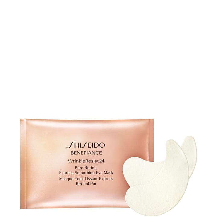 Benefiance WrinkleResist24 Masque Yeux Lissant Express Rétinol Pur - SHISEIDO - Incenza