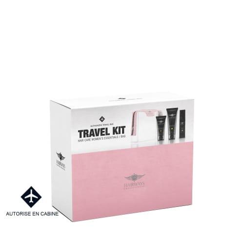Hairways Professional Kit de Voyage Femme 3 Produits