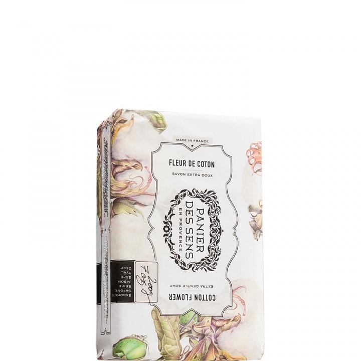 Fleur de Coton Savon Extra-Doux au Beurre de Karité - Panier des Sens - Incenza