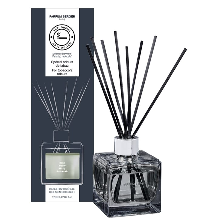 Bouquet Parfumé Cube Anti-Odeur de Tabac - Maison Berger Paris - Incenza