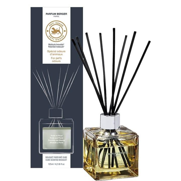 Bouquet Parfumé Cube Anti-Odeur d'Animaux - Maison Berger Paris - Incenza