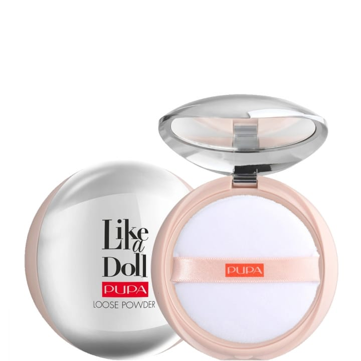 Like a Doll Loose Powder Poudre libre Invisible Effet Peau Nue - Pupa - Incenza