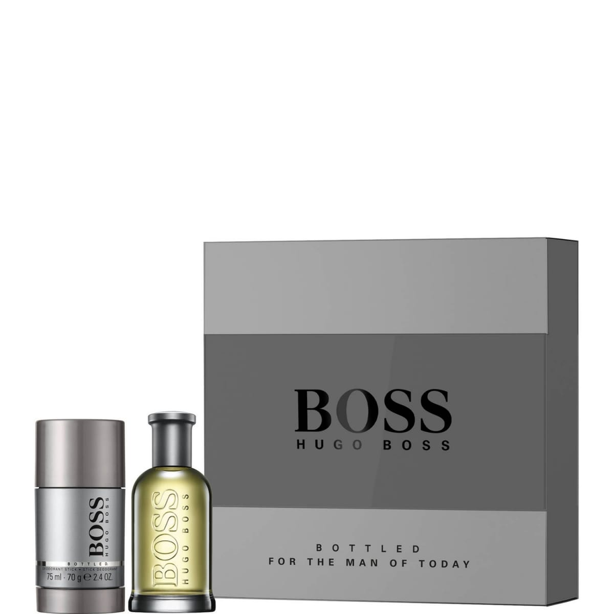 bottled coffret eau de toilette 50 ml et deo stick 75 ml hugo incenza