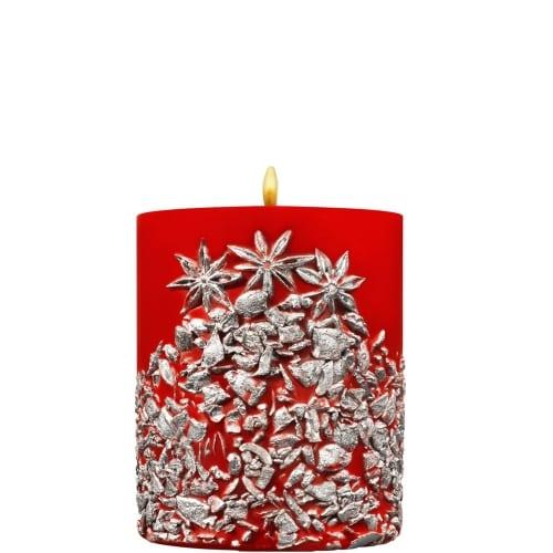 Bougie de Noël Argent