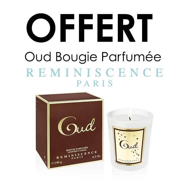 Offert Oud Bougie Parfumée RÉMINISCENCE -  - Incenza