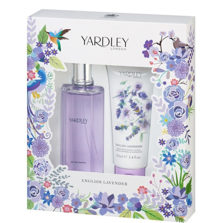 English Lavender Coffret Eau de Toilette - Yardley - Incenza