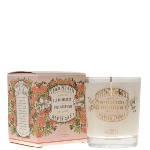 Absolue Géranium Rosat Bougie Parfumée
