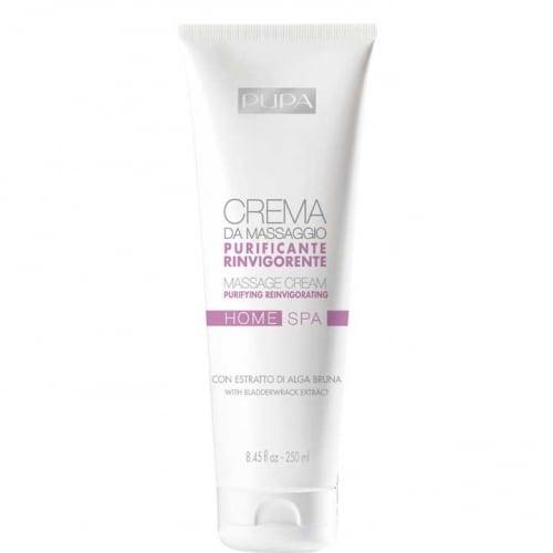 HOME SPA Crème pour le Massage Purifiante Revigorante