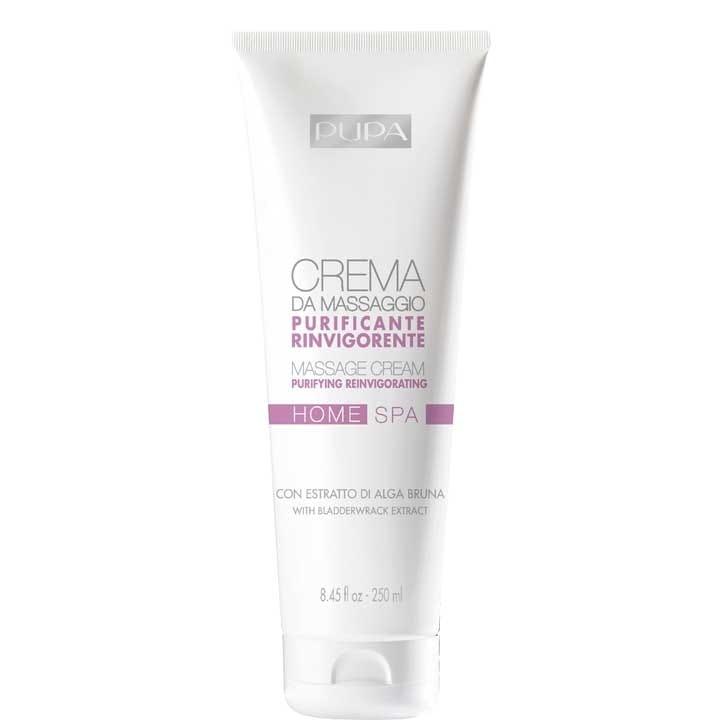HOME SPA Crème pour le Massage Purifiante Revigorante - Pupa - Incenza