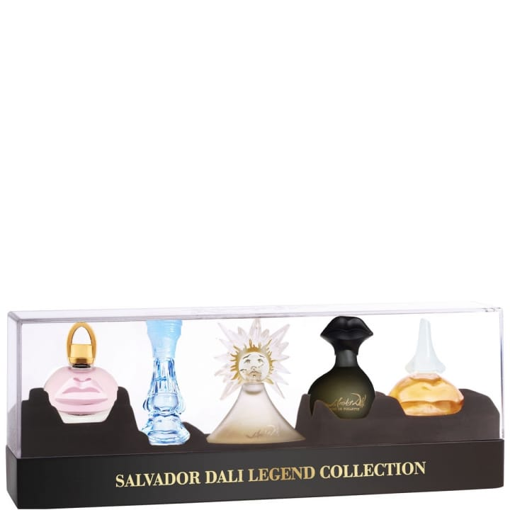 Salvador Dali Legend Collection Coffret 5 Miniatures - Salvador Dali - Incenza