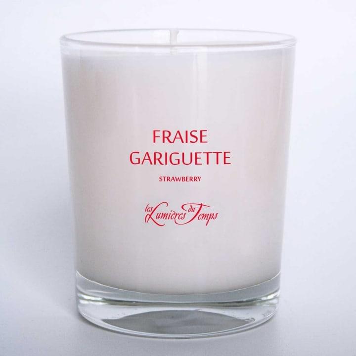 Bougie Végétale Fraise Gariguette - Les Lumières du Temps - Incenza