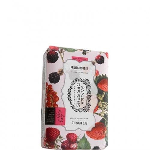 Fruits Rouges Savon Extra-Doux au Beurre de Karité